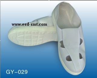 ESD PU Leather Butterfly Shoes
